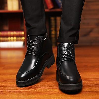 [Bormran] 15cm身長アップ 背が高くなるシークレット シークレットシューズ 紳士靴 超軽量型 ドレスシューズ ビジネスシューズ 営業マン