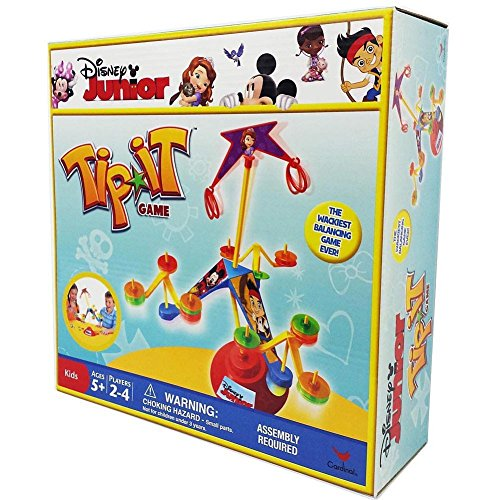 Disney Junior Tip It Game by Cardinal