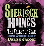 img - for The Valley of Fear: An Unabridged Reading by Sir Derek Jacobi (Sherlock Holmes) book / textbook / text book