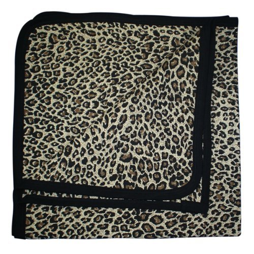 Babywearuk British Made Leopard Print Baby Blanket Multicolored front-313033