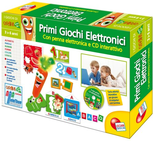 Liscianigiochi Carotina Penna Parlante Kit Cd Rom 35168