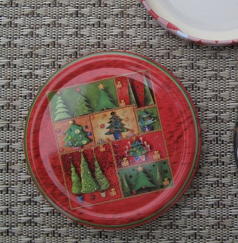 Caps-Deckel Marmeladenglas Deckel 82mm Weihnachten