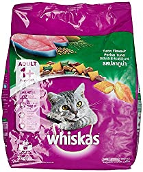 Whiskas Adult Cat Food Pocket Tuna Flavour, 3 kg Pack