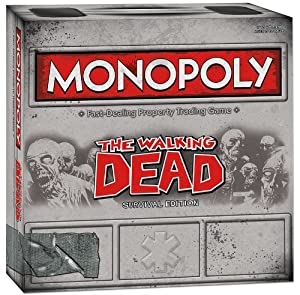 The Walking Dead Monopoly Game - Collector's Item!
