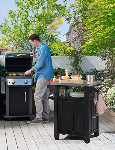 Keter Unity Indoor Outdoor BBQ Entertainment