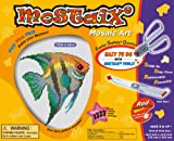Mostaix Ribbon Series Angel Fish Mosaic Art Set (Red)