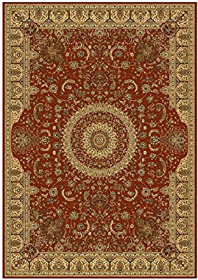 Stunning Silk Persian Area Rugs Traditional Design Red Tabriz 8x12 Rug 2x12 Stairs Rugs Multi-sizes Area Rugs Floor Carpet 5x8 Rug 2x8 Hallway Rug Round Shape Rugs Red