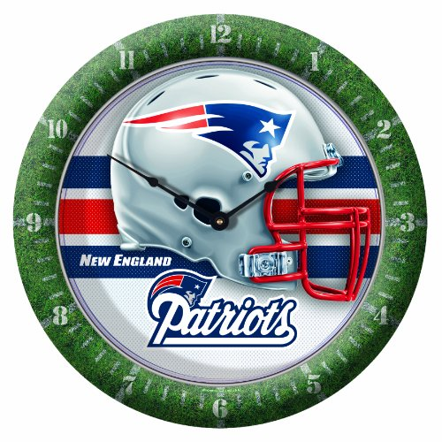 NFL New England Patriots Game Time Clock