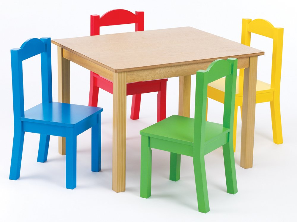 Kids Wooden Table And Chairs Homelingo Com