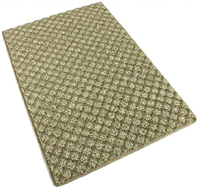 Make Green -40 oz Indoor Area Rug Carpet, Runners, & Stair Treads With Premium Nylon Fabric FINISHED EDGES.