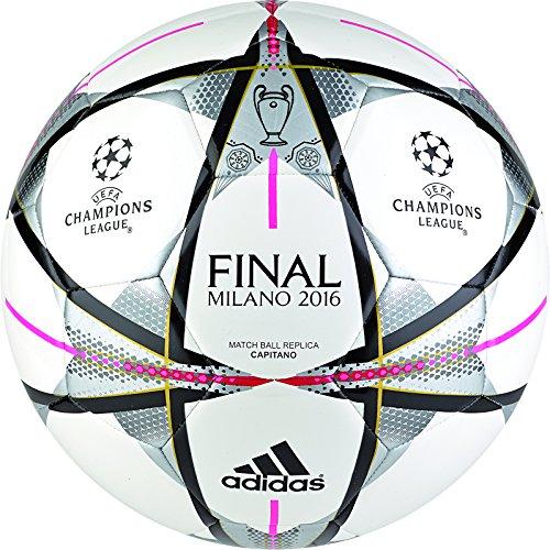 adidas Performance palla Finale Milano Capitano, bianco, 5, AC5488