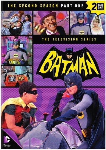 DVD : Batman: Season Two Part One (Boxed Set, Full Frame, Slipsleeve Packaging, 4 Disc)
