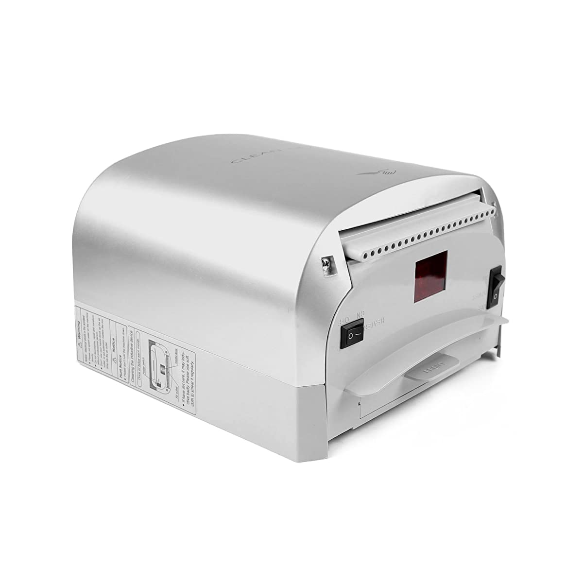 PENSON & CO. Instant Heat & Dry Super Quiet Commercial High Speed 95m/s Automatic Electric Hand Dryer Silver