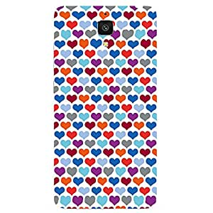 Back cover for OnePlus Three Heart Pattern