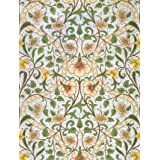 Daffodil wallpaper, by William Morris (Print On Demand)