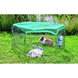 Trixie Natura Outdoor Run with Net, 63 � 60 cm, 6 Elementsby Trixie