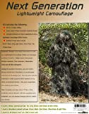 Ghillie Kit, Includes 7 Different Colors, and Directions