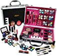 Professional Vanity Case Cosmetic Make Up Urban Beauty Box Travel Carry Gift 57 Piece Storage Organizer - Eyes Lips Face Nail