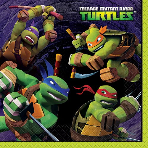 Teenage Mutant Ninja Turtles Luncheon Napkins, 16ct - 1