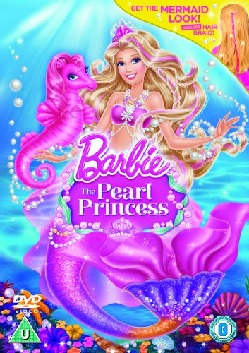 Barbie: The Pearl Princess (Includes Mermaid Hair Braid) [DVD + UV Copy]