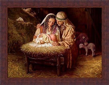 Nativity Scene Artwork Nativity Manger Scene