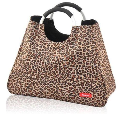 Chic to Go 80147 Sac de courses Imprimé léopard