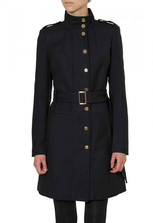 CASPAR Damen langer Winter Wollmantel / Trenchcoat mit Knopfleiste – viele Farben – MTL002 günstig kaufen