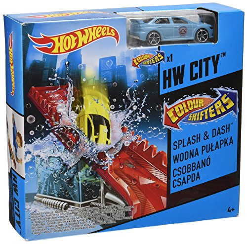 Hot Wheels Color Shifters Color Clean Machine Play Set (Color Change Hotwheels Cars compare prices)