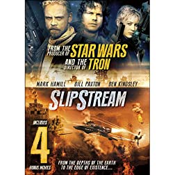 Slipstream Includes 4 Bonus Movies: Logan's War Bound by Honor / The President's Man / The President's Man A Line...