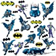 Roommates Rmk1148scs Batman Gotham Guardian Peel Stick Wall Decals from RoomMates