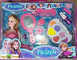 ToyTree Frozen Doll with Make Up kit and other Fashion Accessory Best Gift for Girl !!!