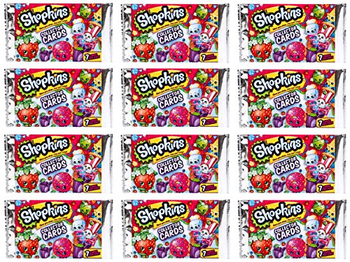 Shopkins-Collector-Cards-Bundle-12-Packs-7-cards-in-each-pack