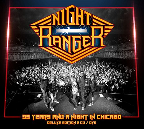 35 Years And A Night In Chicago [2 CD/DVD Combo][Deluxe Edition] (Night Ranger Dvd compare prices)