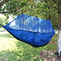 Hammock,Camping Hammock,Creativecase 2 Person Outdoor Mosquito Net Hammock Travel Parachute Fabric Double Hammock For Indoor, Camping, Hiking,Beach