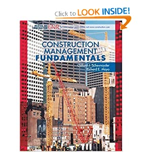 Construction Management Fundamentals (Mcgraw-Hill Civil Engineering Series)