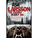The Second Deadly Sin (       UNABRIDGED) by Asa Larsson Narrated by Gabrielle Glaister