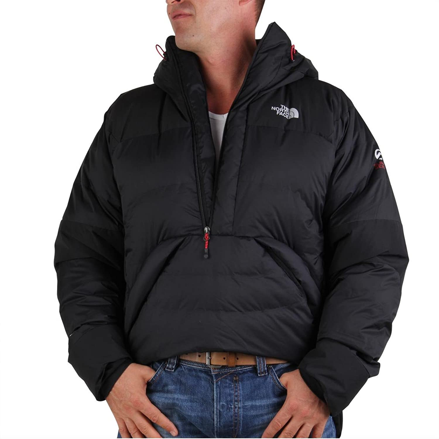THE NORTH FACE Herren Winter Daunen Schlupf Jacke Sharksfin Belay Black günstig bestellen