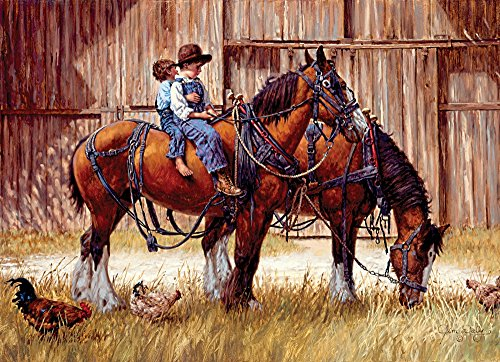 Cobble Hill Back to the Barn Jigsaw Puzzle, 1000-Piece