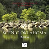 img - for 2014 David Fitzgerald & Friends Oklahoma Scenic Wall Calendar book / textbook / text book