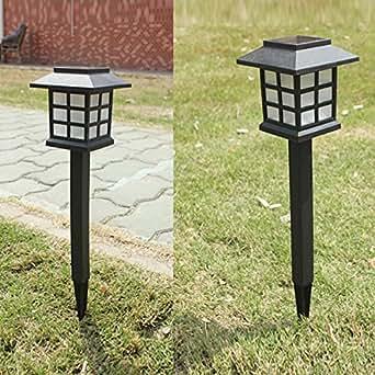 waterproof led solar garden light outdoor landscape stake