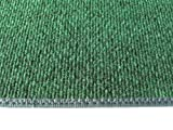 6'X9' OVAL - GREEN MULTI - Indoor/Outdoor Area Rug Carpet, Runners & Stair Treads with a Non-Skid Latex Marine backing and Premium Nylon Fabric FINISHED EDGES . Olefin , 3/16