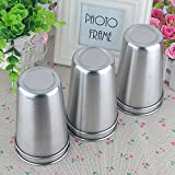 UName Set of 6,17.6oz Stainless Steel Pint Cups,Party Cups,Large Cups,Camping Cups UN065