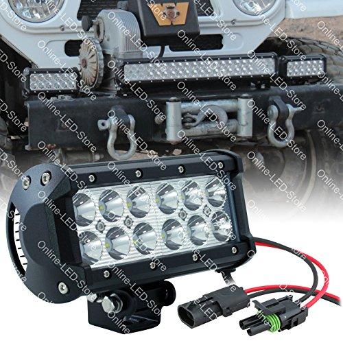 "Lamphus Cruizer 6.5"" 36W Cree Led Offroad Atv Utv Lightbar Lamp (Other Sizes Available) - Spot"