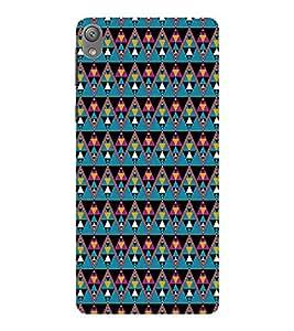 EPICCASE cris cross Mobile Back Case Cover For Sony E5 (Designer Case)