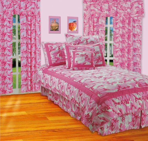 Hot Camo Teen Girls Bedding
