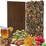 BOGATCHI Dark Chocolate Granola Bars With HONEY, ALMONDS, CRUNCHY, PUMPKIN SEEDS, RAISINS, CRANBERRY - ENERGY... - B071NHD19X