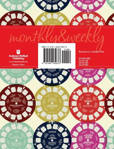 Posh: Retro Reels 2014 Monthly/Weekly Planning Calendar