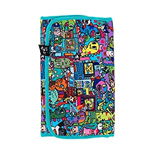Ju-Ju-Be Changing Pad Bag, Tokidoki Kaiju City from Ju-Ju-Be