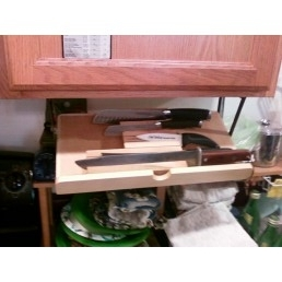 under cabinet knife storage drawer | Roselawnlutheran