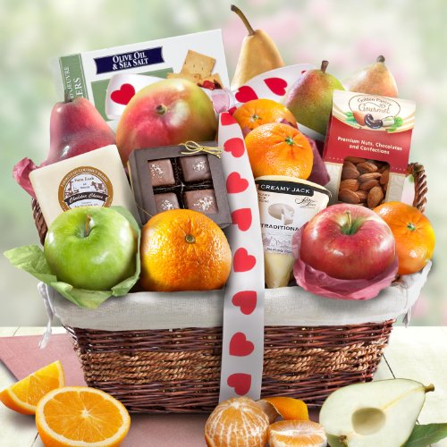 The Valentine Deluxe Classic Fruit Basket